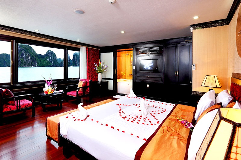 Du thuyền Starlight phòng suite
