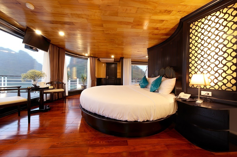 Du thuyền serenity phòng nghỉ moon suite