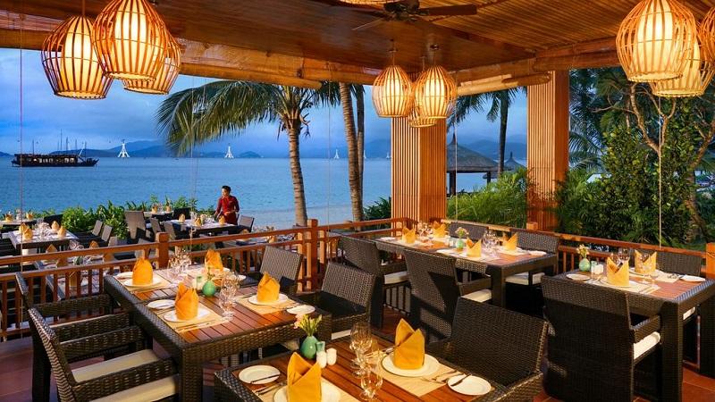 Nhà hàng Marina ở Vinpearl Resort & Spa Nha Trang Bay