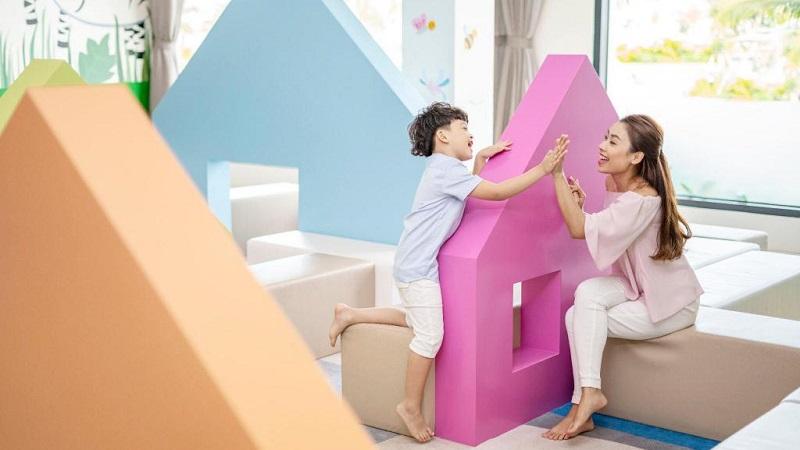 Khu vui chơi trẻ em ở Vinpearl Discovery Wonderworld Phú Quốc