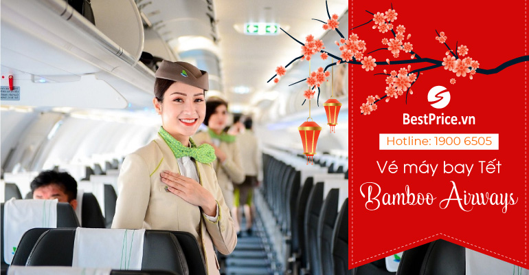 Vé máy bay Tết Bamboo Airways