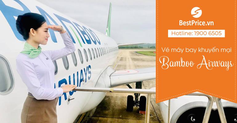 Vé máy bay Bamboo Airways khuyến mại