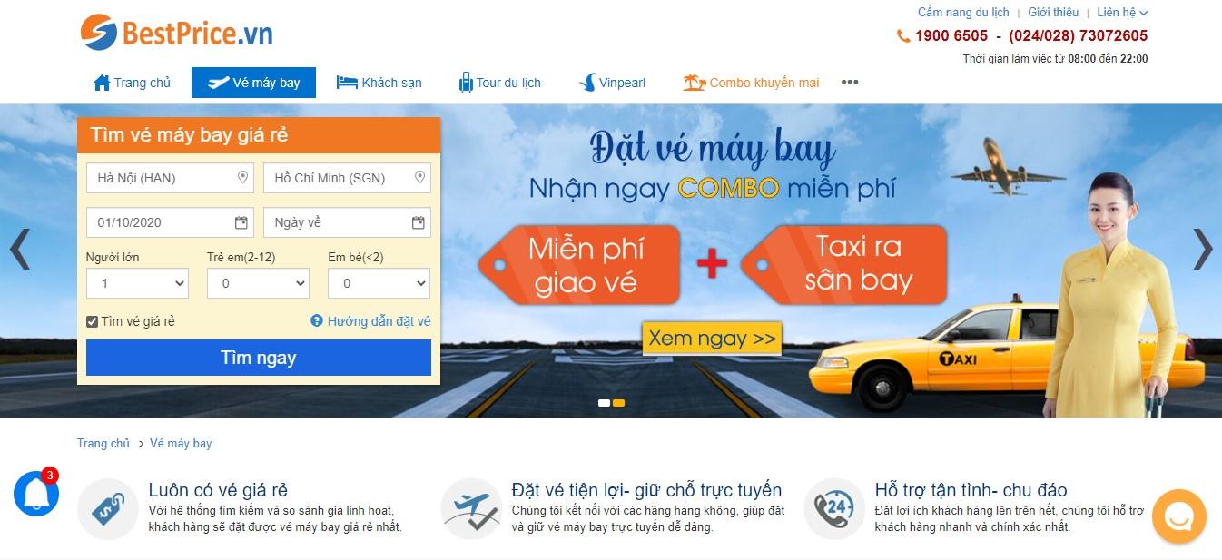 Điền thông tin để săn vé máy bay Pacific Airlines