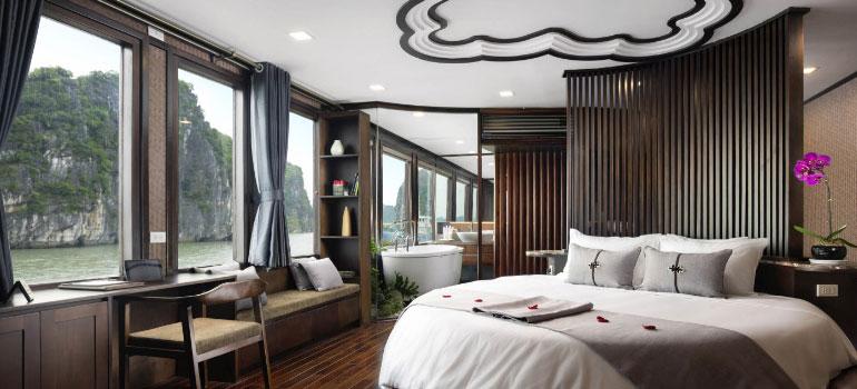 Cabin trên du thuyền Hạ Long