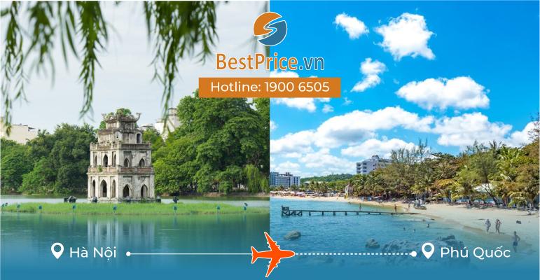 Vé máy bay giá rẻ Hà Nội - Phú Quốc