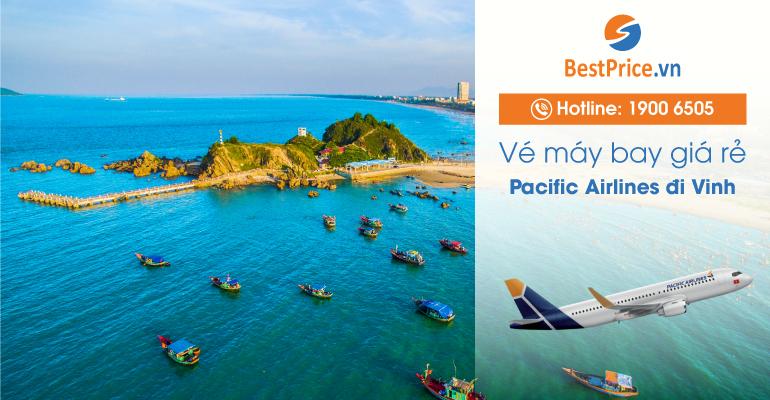 Vé máy bay Pacific Airlines đi Vinh