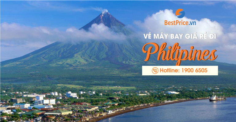 Vé máy bay giá rẻ đi Philippines