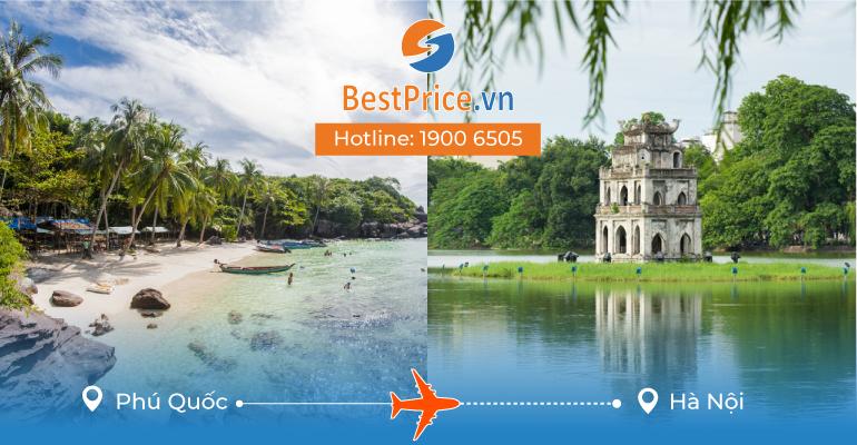 Vé máy bay giá rẻ từ Phú Quốc đến Hà Nội