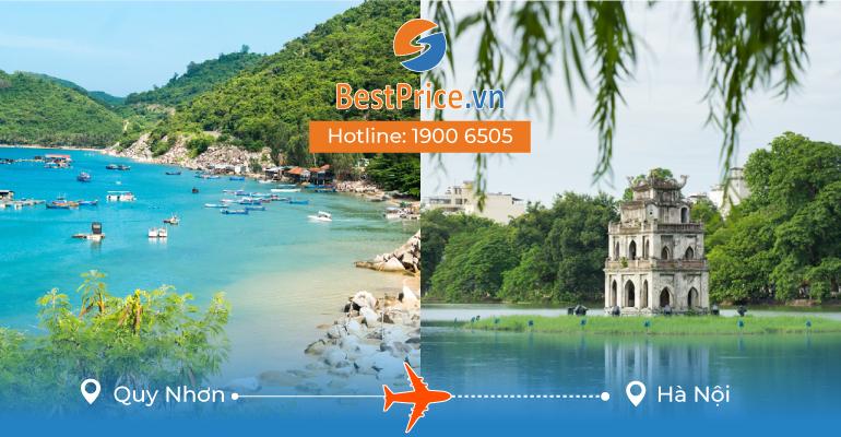 Vé máy bay giá rẻ từ Quy Nhơn đến Hà Nội