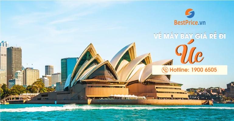 Vé máy bay giá rẻ đi Úc (Australia)