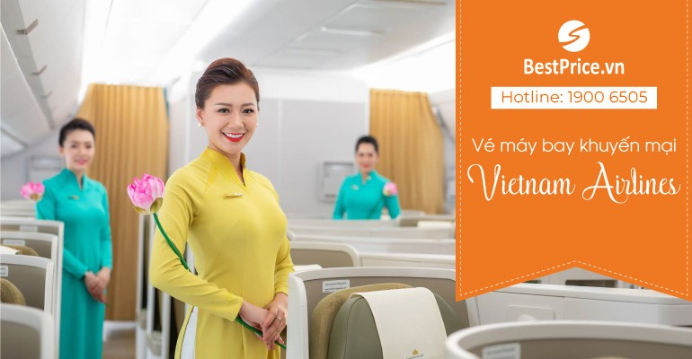 Vé máy bay Vietnam Airlines khuyến mại