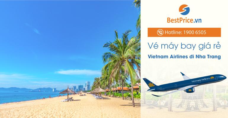 Vé máy bay hãng Vietnam Airlines đi Nha Trang