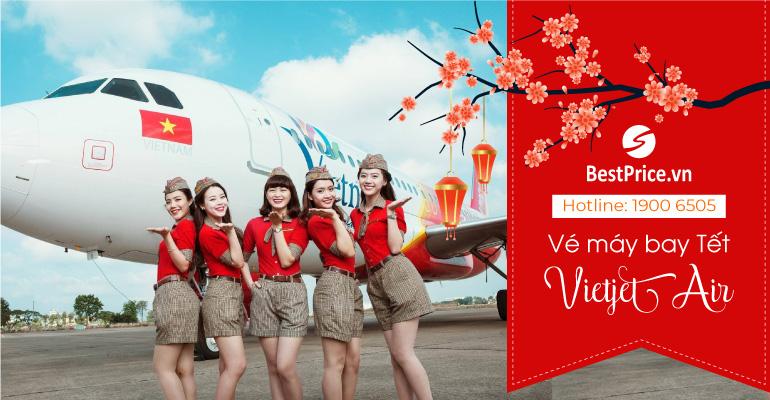 Vé máy bay Tết hãng Vietjet Air