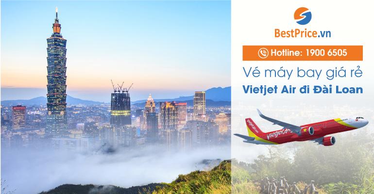 Vé máy bay giá rẻ hãng Vietjet Air đi Đài Loan