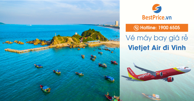 Vé máy bay hãng Vietjet Air đi Vinh