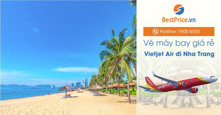Vé máy bay hãng Vietjet Air đi Nha Trang