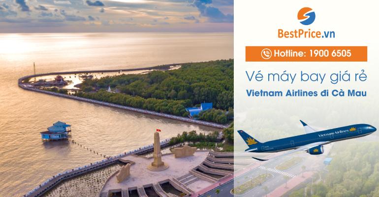 Vé máy bay hãng Vietnam Airlines đi Cà Mau