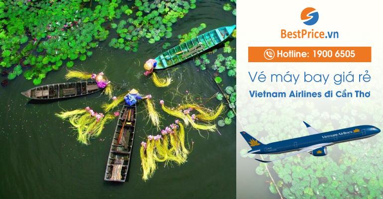 Vé máy bay hãng Vietnam Airlines đi Cần Thơ
