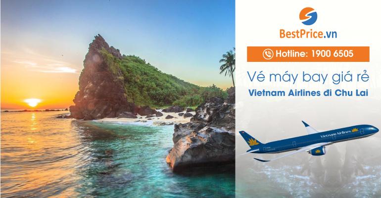 Vé máy bay Vietnam Airlines đi Chu Lai