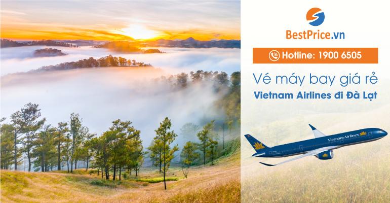 Vé máy bay hãng Vietnam Airlines đi Đà Lạt