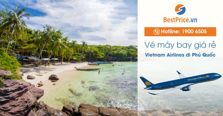 Vé máy bay hãng Vietnam Airlines đi Phú Quốc