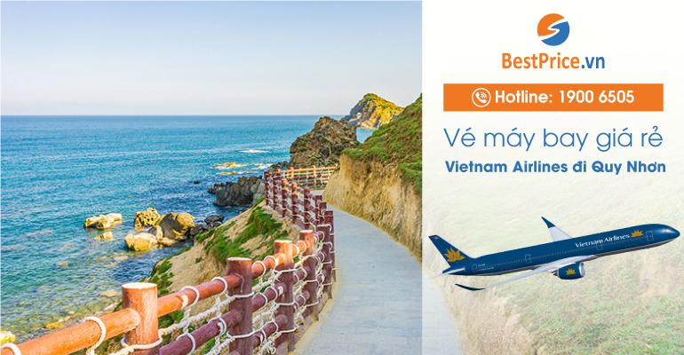 Vé máy bay hãng Vietnam Airlines đi Quy Nhơn
