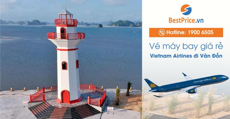 Vé máy bay hãng Vietnam Airlines đi Vân Đồn
