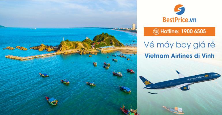 Vé máy bay hãng Vietnam Airlines đi Vinh