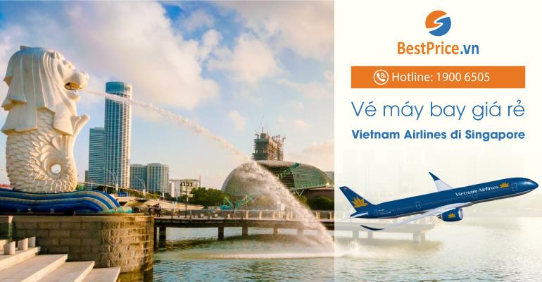 Vé máy bay hãng Vietnam Airlines đi Singapore