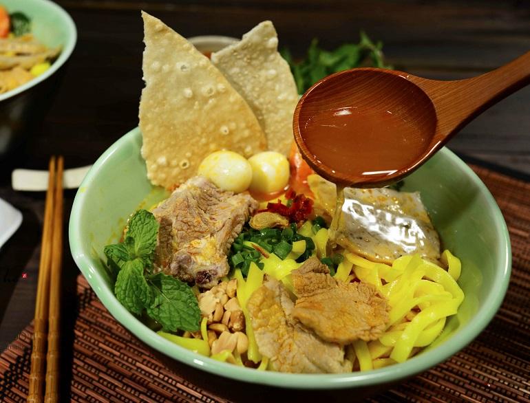 Mì Quảng - món ăn nổi tiếng tại Đà Nẵng