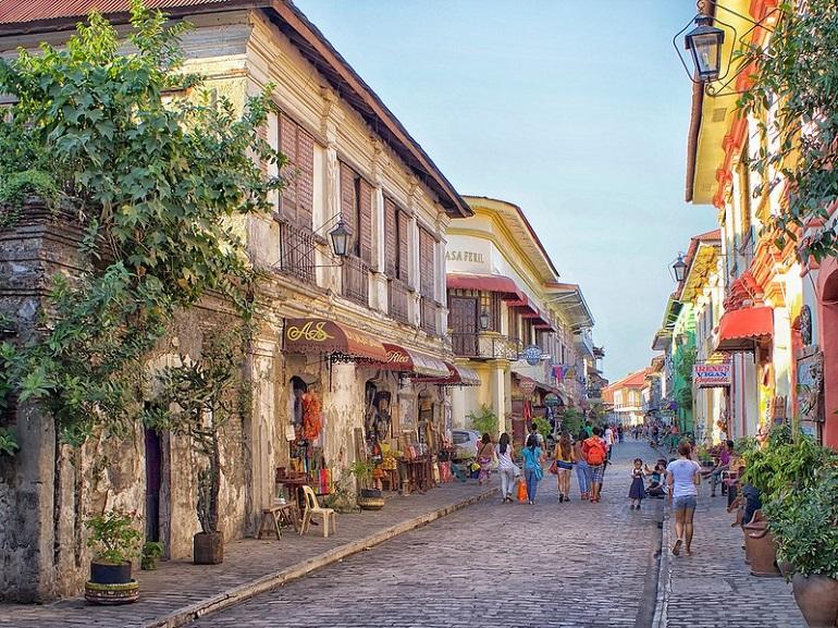 Phố cổ Vigan – con phố được ví như Châu Âu cổ kính