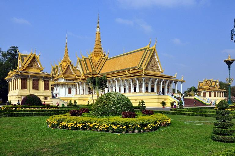 Thủ đô Phnom Penh của Campuchia