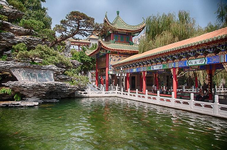 Vườn bảo mặc Quảng Châu
