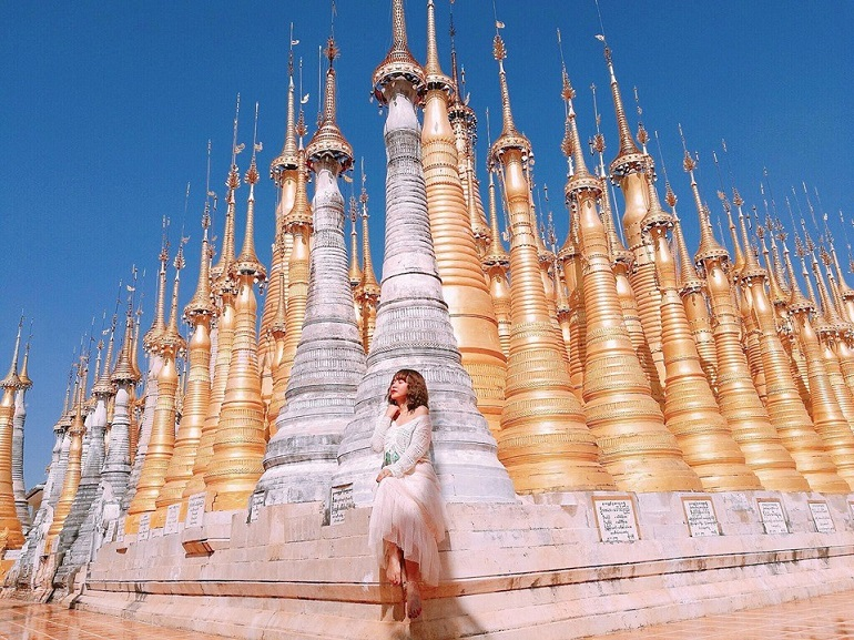 Giới trẻ du lịch Yangon Myanmar