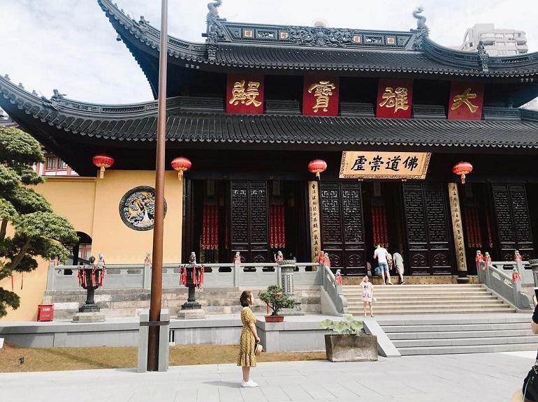 Phố cổ Qinghefang Hàng Châu Trung Quốc