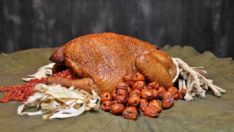 Món gà ăn mày nổi tiếng của Hàng Châu