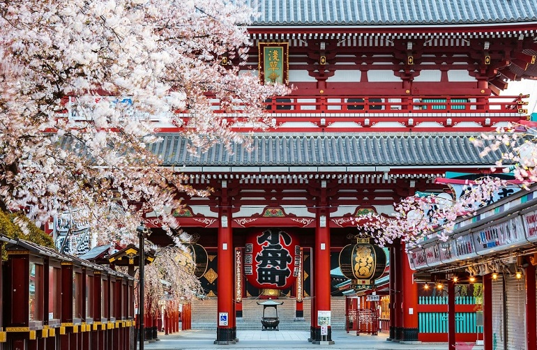 Asakusa Nhật Bản