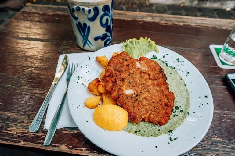 Schnitzel or Frankfurters