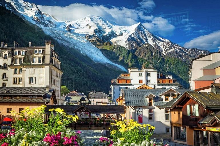 Làng Chamonix Mont Blanc Thụy Sĩ