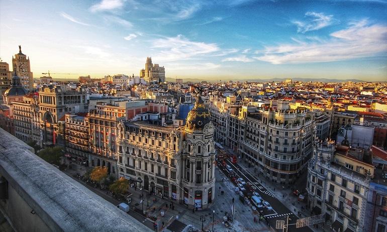 Thủ đô Madrid của Tây Ban Nha