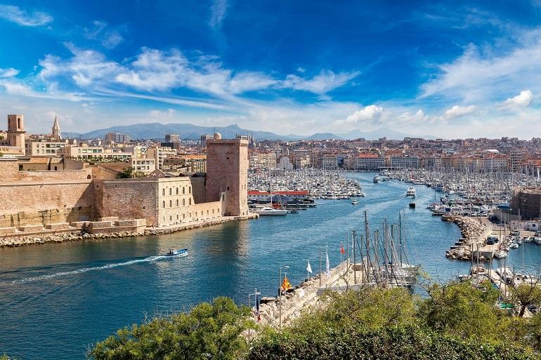 Thành phố cổ Marseille Pháp