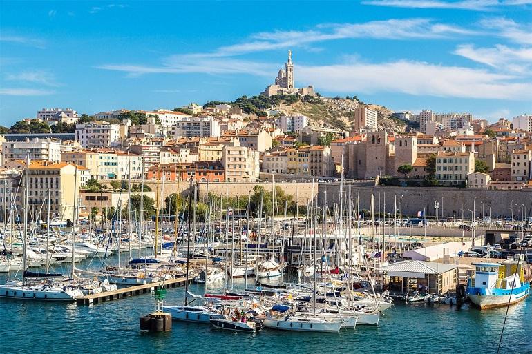 Cảng cổ Marseille Pháp
