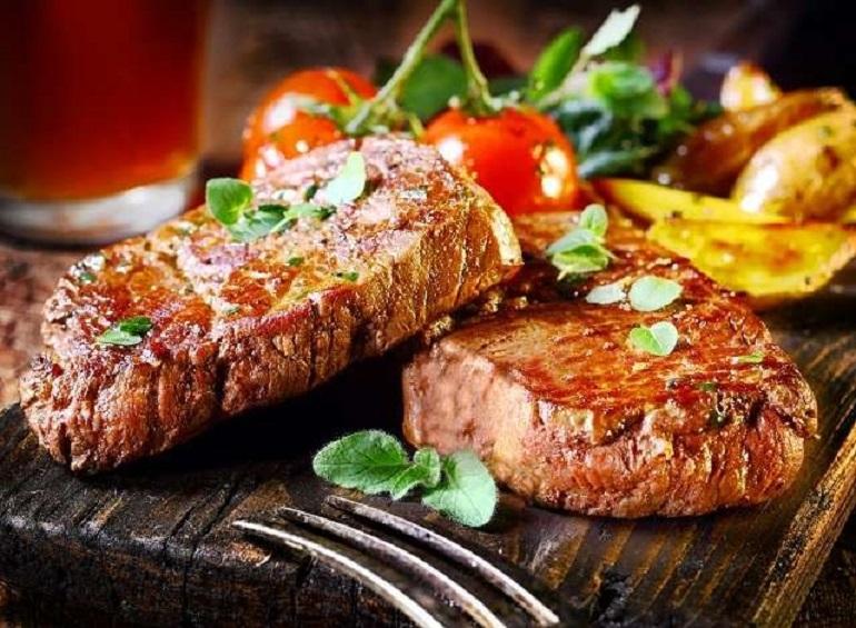 Bò Tasmania nướng