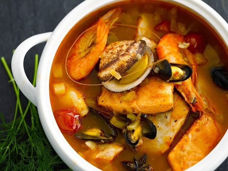 Bouillabaisse (súp cá kiểu Pháp)
