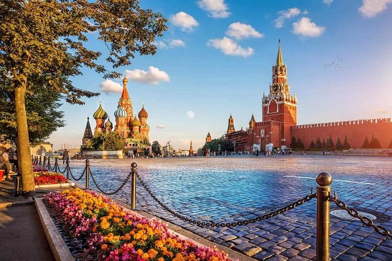 Thủ đô Moscow (Mát-cơ-va) Nga