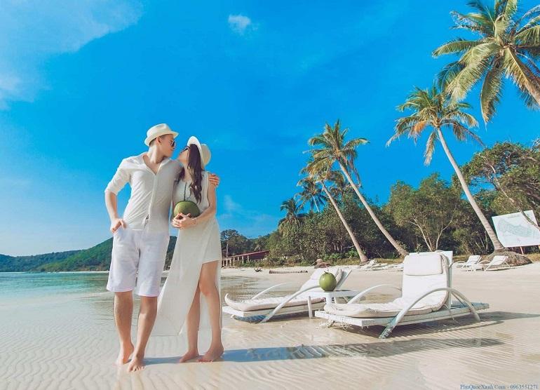 Check in bãi biển Phú Quốc