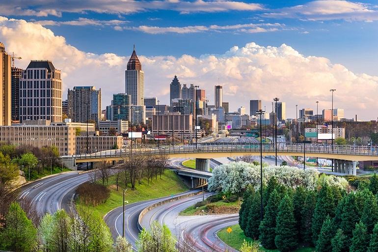 Thành phố Atlanta - thủ phủ của Bang Georgia, Mỹ