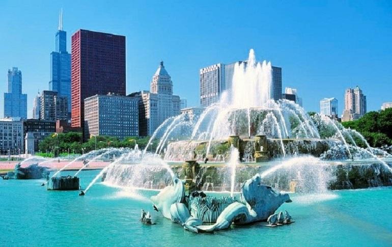 Đài phun nước Buckingham Fountain