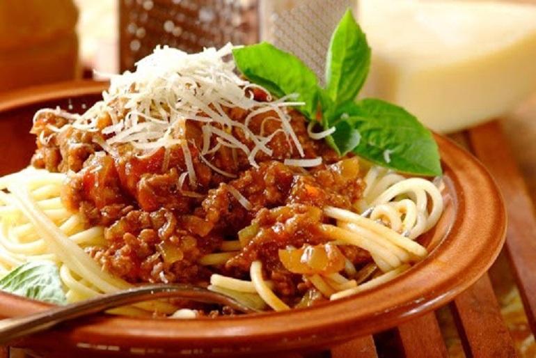 Món Spaghetti (Mỳ Ý) nổi tiếng