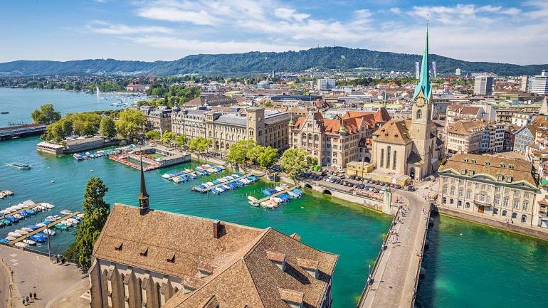 Thành phố Zurich Thụy Sĩ